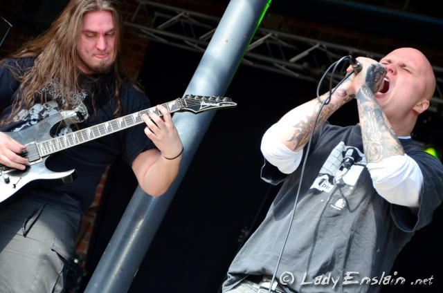 Corpsessed @ Steelfest Open Air