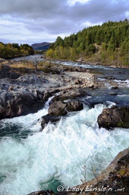 Dombfossen Waterfall @ Til Dovre Faller 2012